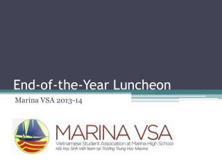 End-of-the-Year Luncheon
