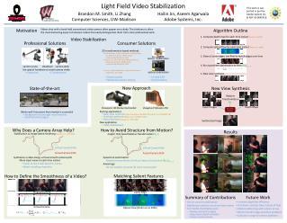 Light Field Video Stabilization
