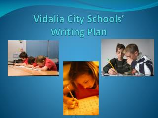 Vidalia City Schools' Writing Plan