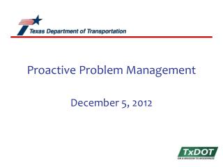 Proactive Problem Management