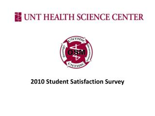 2010  Student Satisfaction Survey