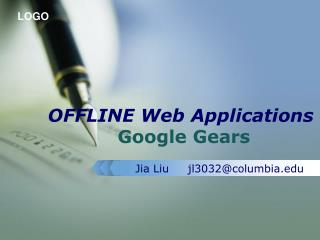 OFFLINE Web Applications Google Gears