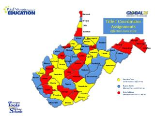 Title I Coordinator Assignments Effective  June 2012