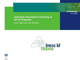 Automatic Equivalence Checking of UF+IA Programs