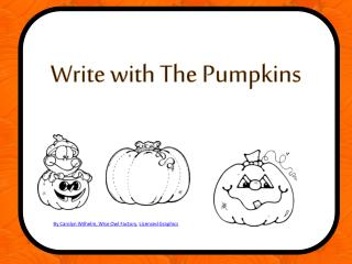 Write with The Pumpkins