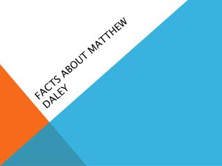 Facts about Matthew Daley