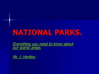 impacts of tourism on national parks uk essay Gcse geography revision section covering tourism and national parks.