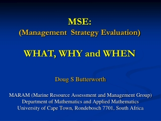 Assessment-Based Management