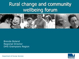 Rural change and community wellbeing forum