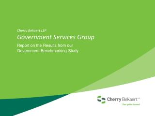 Cherry  Bekaert  LLP Government Services Group