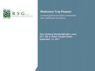 Multistate Trip Planner