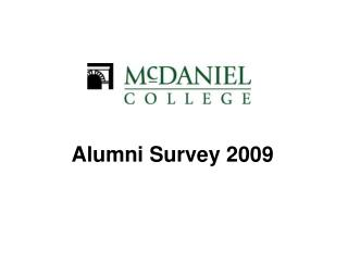 Alumni Survey 2009