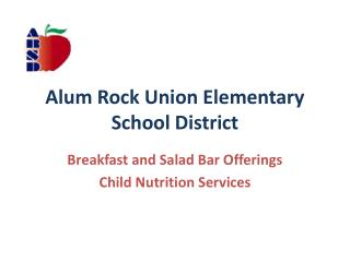 Alum Rock Union Elementary School District
