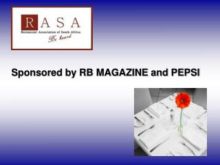 Sponsored by RB MAGAZINE and PEPSI