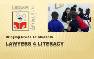 Lawyers 4 Literacy