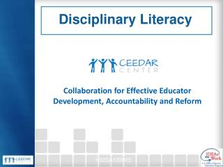 Collaboration for Effective Educator Development, Accountability and Reform