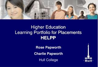 Rose Papworth Charlie Papworth Hull College