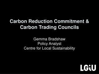 Carbon Reduction Commitment