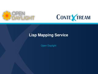 Lisp Mapping Service