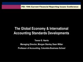 FEI: 19th Current Financial Reporting Issues Conference