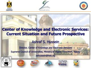 Center of Knowledge and Electronic Services: Current Situation and Future Prospective