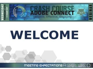 Adobe Connect Pro  Crash Course