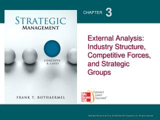 External Analysis: Industry Structure, Competitive Forces, and Strategic Groups