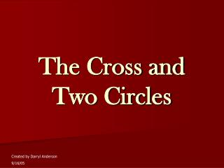 The Cross and Two Circles