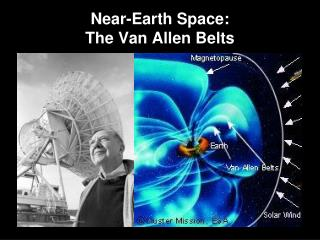 Near-Earth Space:   The Van Allen Belts