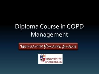 Diploma Course in COPD Management