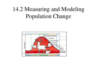14.2 Measuring and Modeling Population Change