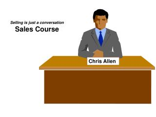 Selling is just a conversation Sales Course