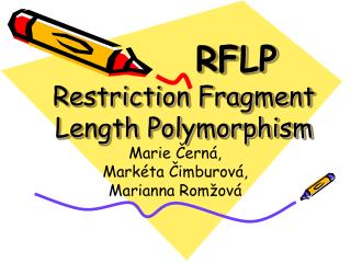 RFLP Restriction Fragment Length Polymorphism