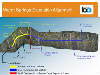 Warm Springs Extension Alignment