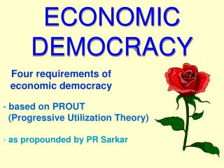 ECONOMIC DEMOCRACY