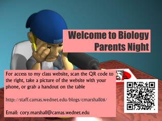 Welcome to Biology Parents Night