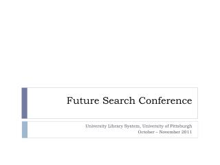 Future Search Conference