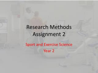 Research Methods Assignment 2