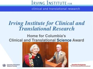 Irving Institute for Clinical and Translational Research
