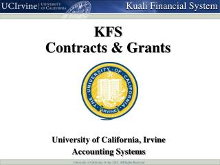 KFS Contracts & Grants