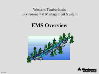 Western Timberlands Environmental Management System