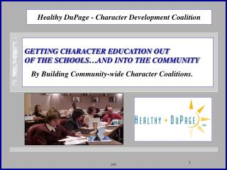 Healthy DuPage - Character Development Coalition