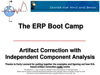 The ERP Boot Camp