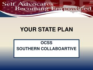 YOUR STATE PLAN