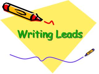 Writing Leads