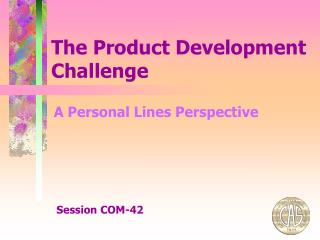 The Product Development Challenge