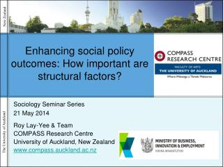 Enhancing social policy outcomes: How important are structural factors?