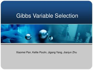 Gibbs Variable Selection