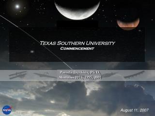 Texas Southern University Commencement