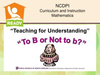NCDPI Curriculum and Instruction Mathematics